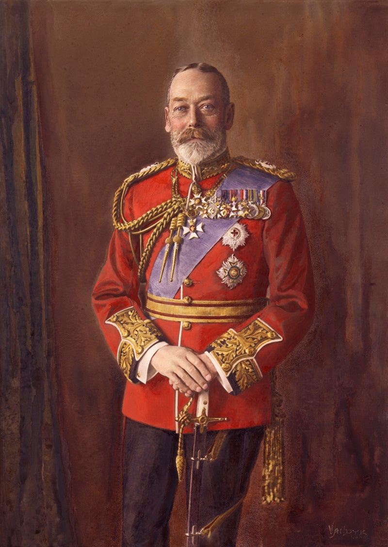 King George V NPG x74754 Portrait Print