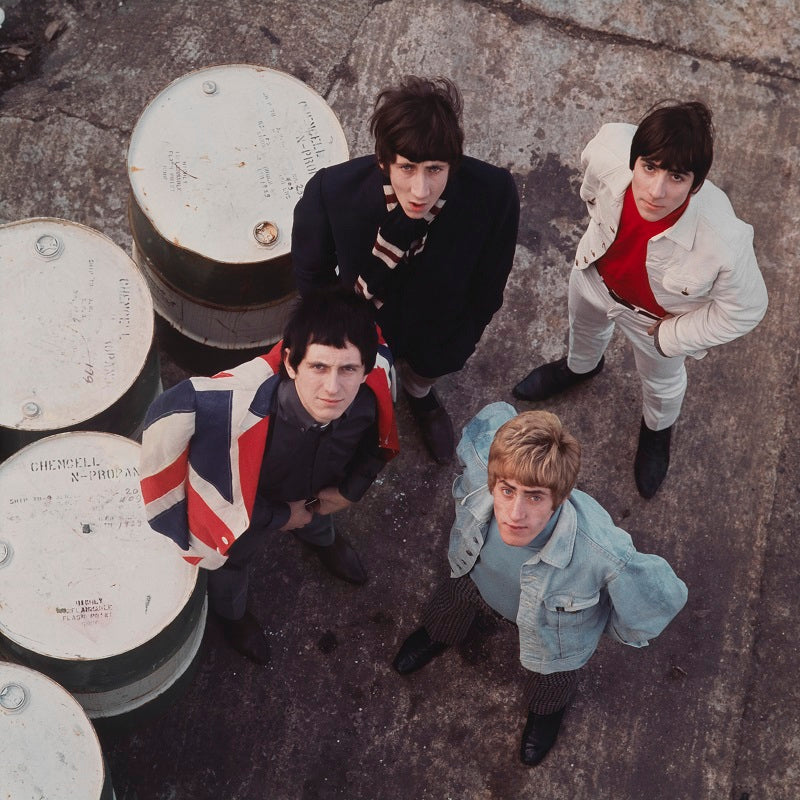 The Who (Pete Townshend; Keith Moon; Roger Daltrey; John Entwistle) NPG x76440 Portrait Print
