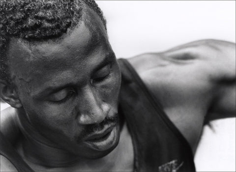 Linford Christie NPG x76542 Portrait Print