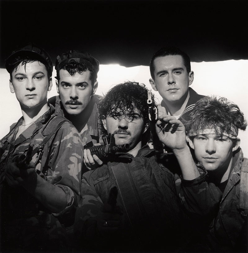 Frankie Goes To Hollywood (Mark O'Toole; Paul Rutherford; Peter Gill; Holly Johnson; Nasher Nash (Brian Nash)) NPG x87624 Portrait Print