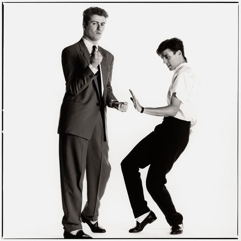 Wham! (George Michael; Andrew Ridgeley) NPG x87626 Portrait Print