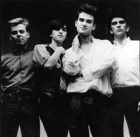 The Smiths (Andy Rourke; Johnny Marr; Morrissey; Mike Joyce) NPG x88140 Portrait Print