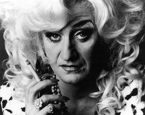 Paul O'Grady as Lily Savage NPG x88382 Portrait Print