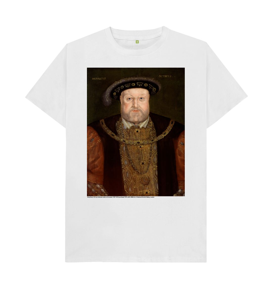 White King Henry VIII  Unisex T-Shirt