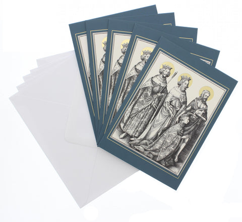 The Wilton Diptych Christmas Card 5 Pack