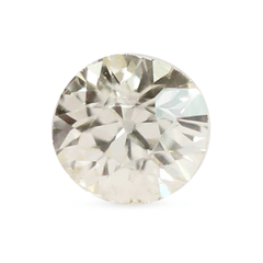 0.31 Faint Yellow Old Mine-Cut Vintage Diamond