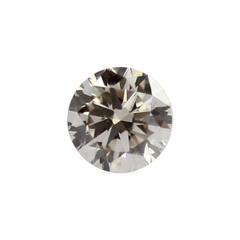 0.35 ct Light Terracotta VS1 Round Brilliant Laboratory Grown Diamond