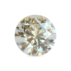 0.40 Jasmine Yellow Round Lab Diamond