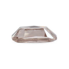 0.42 Silver Pink Cushion Rose-Cut