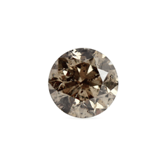 0.44 Antique Bronze I3 Round Brilliant Laboratory Grown Diamond