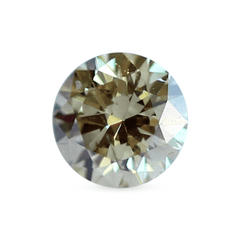 0.49 Golden Yellow Round Lab Diamond