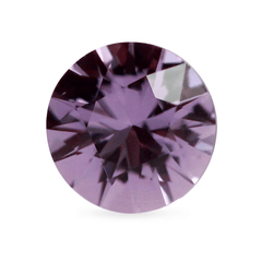 0.47 AKARA Certified Round Medium Purple Freesia Sapphire
