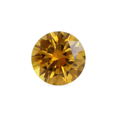 0.50 Autumn Valley Orange Round Brilliant Cut Montana Sapphire