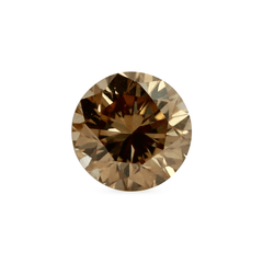 0.50 Medium Champagne SI1 Round Brilliant Cut Australian Diamond