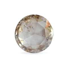 0.52 Terracotta Round Rose-Cut Lab Diamond