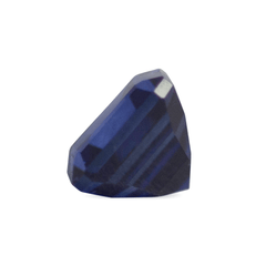 0.53 ct Deep Water Blue Square-Cut Madagascar Sapphire