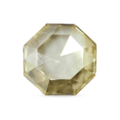 0.53 ct Jasmine Yellow Octagon Rose-Cut Diamond