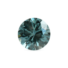0.57 Deep Teal Round Brilliant Montana Sapphire - Fairtrade Jewellery Co.