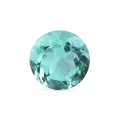 0.60 Mint Green Round Modified Brilliant Mined Emerald