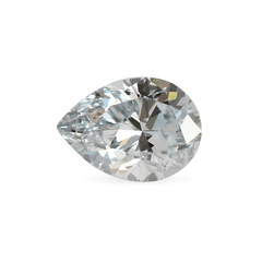 0.69 Glacier Blue - F SI1 Pear Brilliant Cut Laboratory Grown Diamond