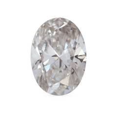 0.70 Oval K SI1 Lab Grown Diamond
