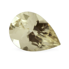 0.72cts AKARA Certified Pear Orchid Yellow Sapphire