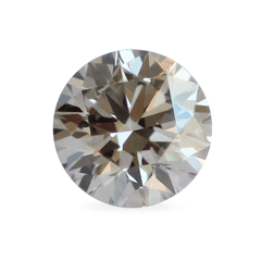 0.73 Beige Shadow O Colour Round Brilliant-Cut Lab-Grown Diamond