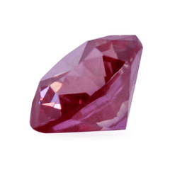 0.76 Vivid Purplish Pink VS2 Round Brilliant Lab-Grown Diamond