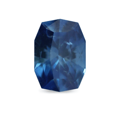 0.77 Deep Blue Pointy Fancy Octagonal Brilliant Montana Sapphire