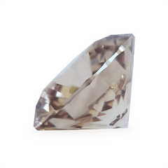 0.80 Honey Brown Round Brilliant Lab Diamond