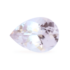 0.80 Light Magnolia Pink Pear Akara Sapphire - Fairtrade Jewellery Co.
