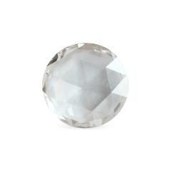 0.82 Ash Grey Round Rose-Cut Lab Grown Diamond