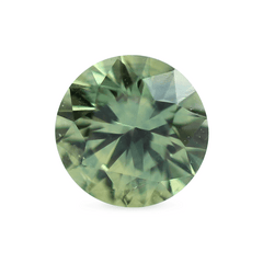 0.83 Sunny Forest Green Round Montana Sapphire