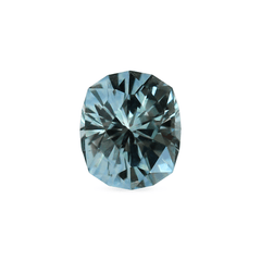 0.83 Teal Blue Modified Cushion Cut Montana Sapphire