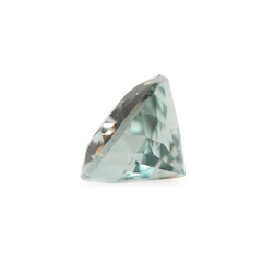 0.86 Spring Meadow Light Green-Blue Pear Mixed Cut Montana Sapphire