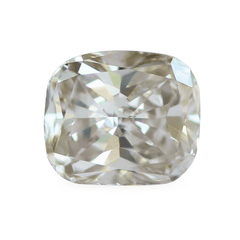 0.91 Light Terracotta Cushion-Cut VS2 Lab Diamond
