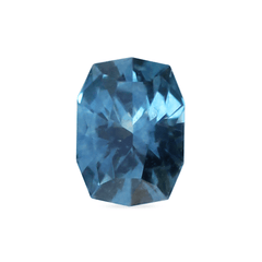 0.94 ct Teal Fancy Cushion Montana Sapphire