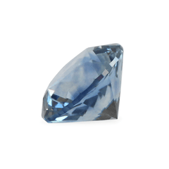 0.97 Denim Blue Round Brilliant Cut Montana Sapphire