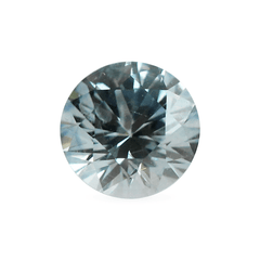 0.97 Forget-Me-Not Pale Blue Round Brilliant Cut Montana Sapphire