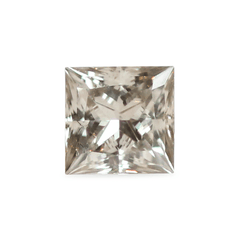 0.97 ct Silver Grey Square Modified Brilliant Diamond