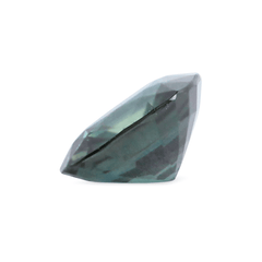 0.99 ct Velvet Bluish Green Cushion Mixed Cut Sapphire