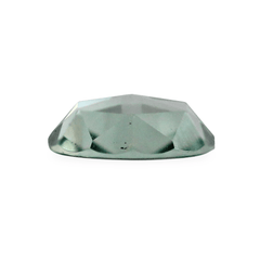 0.73 Pale Green Round Rose-Cut Montana Sapphire
