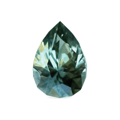 0.82 Sunny Forest Green Pear Montana Sapphire