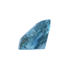 0.91 Cold Teal Trillion Montana Sapphire - Fairtrade Jewellery Co.