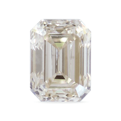 0.46 ct Faint Champagne Emerald Cut Diamond
