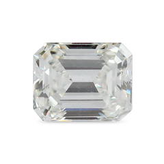 0.63 ct Emerald Cut Recycled Diamond