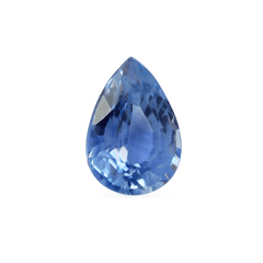 0.74 ct Medium Water Blue Pear Modified Brilliant Sapphire