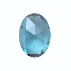 0.78 Colour Change Oval Rose Cut Chatham Grown Alexandrite