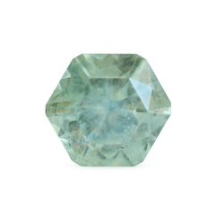 0.79 Light Green Hexagon Modified Brilliant