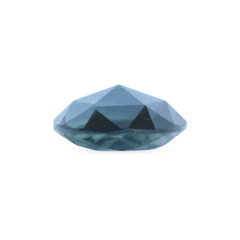0.80 Blue Oval Rose Brilliant-Cut Australian Sapphire - Fairtrade Jewellery Co.